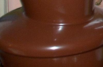 Fontanny czekoladowe na weselu